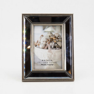 """Mirrored Picture Frame(6.7"""" x 8.66"""")"""