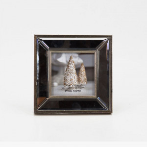 """Mirrored Picture Frame(5.9"""" x 5.9"""")"""