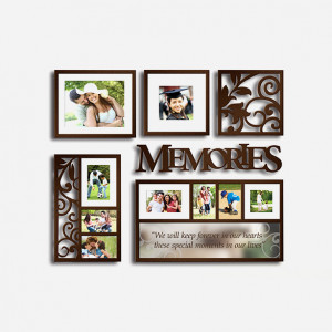 Living Room Collage Picture Frames