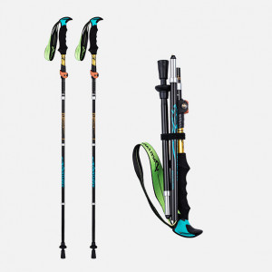 Aluminum Trekking Poles for Hiking Collapsible (Set of 2)